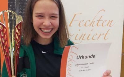 Ella Gamke holt Bronze in Jena
